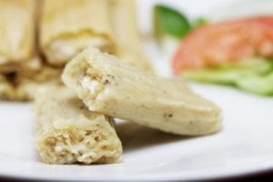 Sweet Cream and Cheese Tamales
