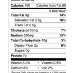 Beef Tamales Nutrition Facts