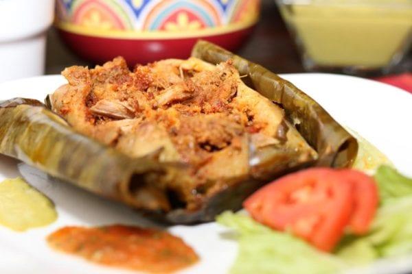 Veracruzano Pork Tamales