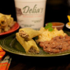 Delia's Tamales Spicy Pork Cooked in Green Sauce